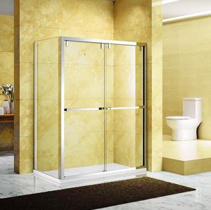 芳汀.6212B  SUS304不锈钢镜钢淋浴房