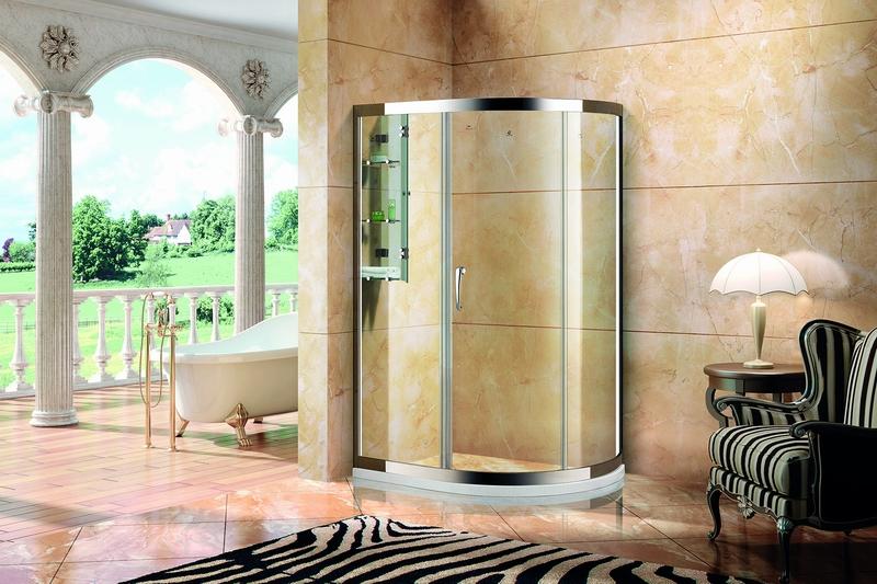 艾美.6053铝镁合金淋浴房