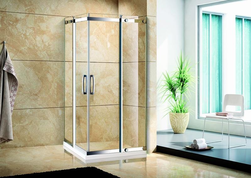 康婷.5312不锈钢镜钢淋浴房