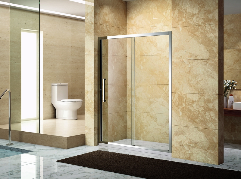 芳华.6461不锈钢镜钢淋浴房