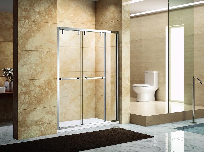 芳汀.6263B  SUS304不锈钢镜钢淋浴房