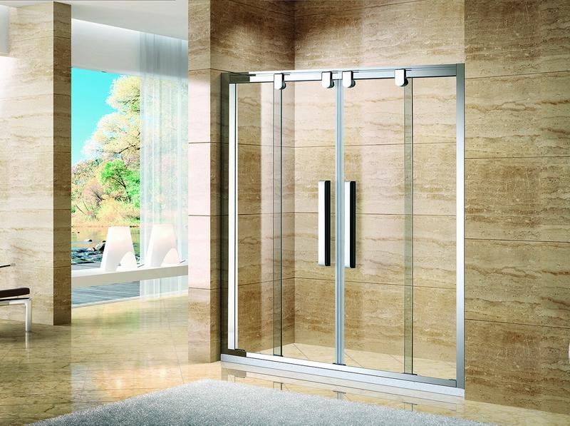 帝豪S-9064不锈钢淋浴房