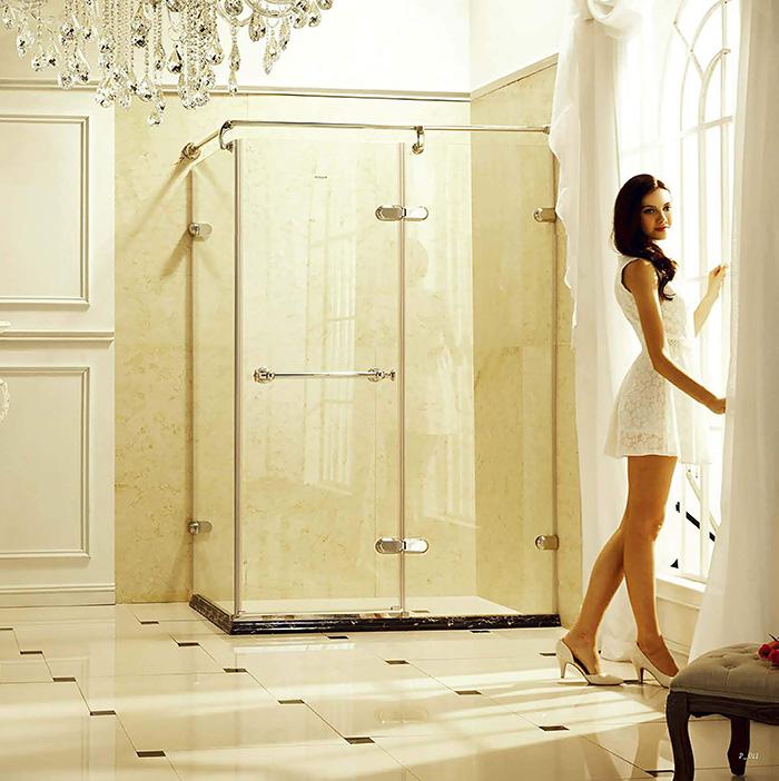 温莎.7911欧式不锈钢淋浴房