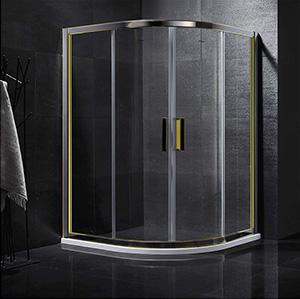 娇兰-6822不锈钢双色淋浴房