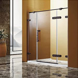 S-7863花纹不锈钢淋浴房