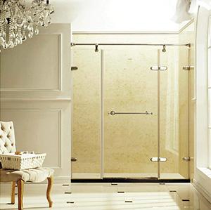 温莎.7963欧式不锈钢淋浴房