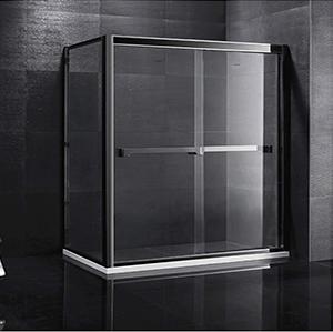 欧米茄.9212双色不锈钢淋浴房