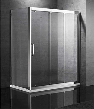晶钻S-6312 不锈钢淋浴房