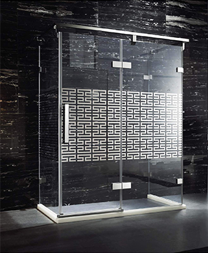 银河.7611U 不锈钢淋浴房