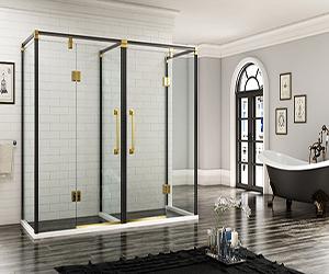 哥德堡.8911E欧式不锈钢淋浴房