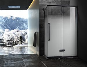 卓尚系列S-8711不锈钢淋浴房